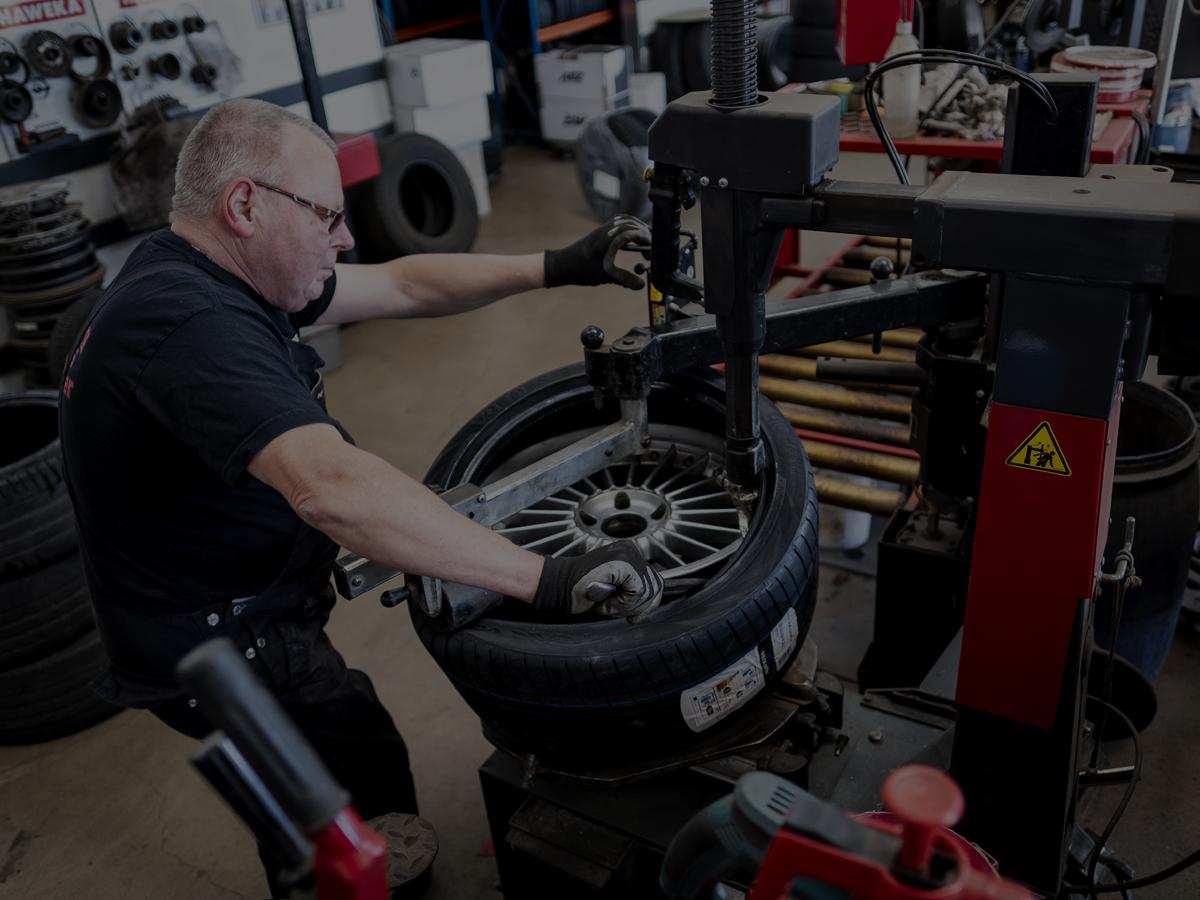 Billig dækskifte